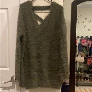🍃🌿 Green soft sweater dress🍃🌿